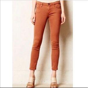AG SIENNA Stevie Ankle Slim Straight Jeans 29R